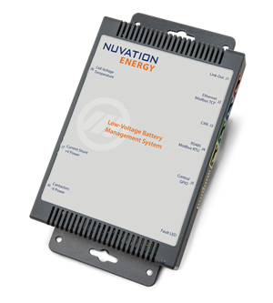 Nuvation Energy Low-Voltage Battery Management System Photo