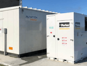 Custom Energy Storage System at a wastewater treatment plant in Santa Rosa