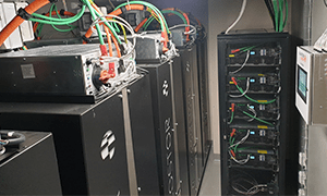 ECO STOR energy storage system with Nuvation Energy BMS